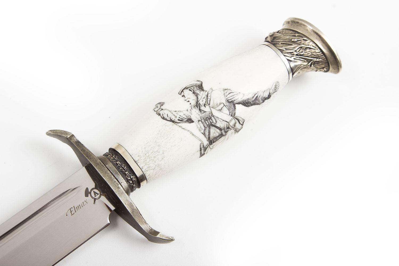 Нож Финка НКВД (авторский)